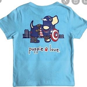 🐶♥️Puppie Love kids tee♥️🐶